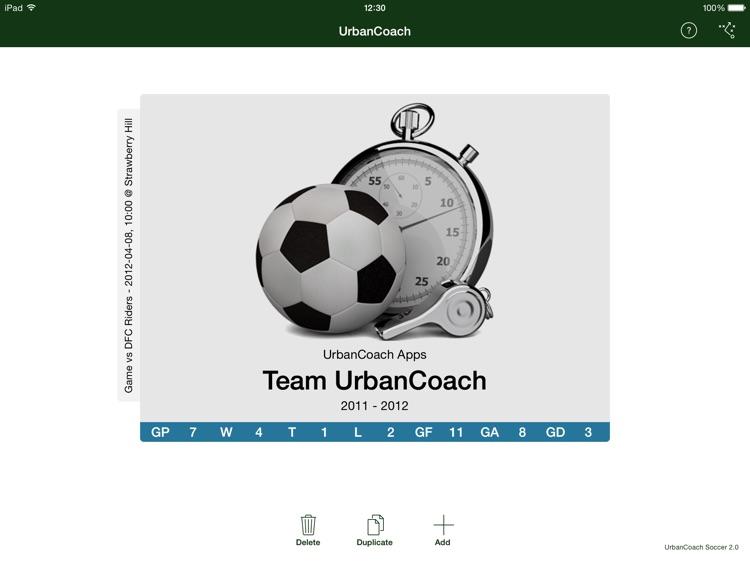 UrbanCoach Soccer screenshot-3