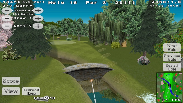 Disc Golf 3D Lite screenshot-2