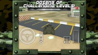 病みつき運転とレーシングチャレンジゲーム無料で3D戦車駐車場ゲームのおすすめ画像2