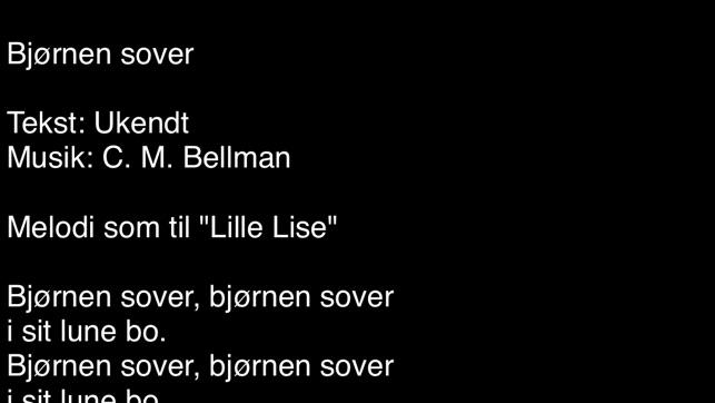 danske sangtekster
