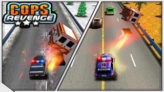 復讐COPS - 高速道路でパトカーの解体(破壊愛好家のためのゲーム)のおすすめ画像4