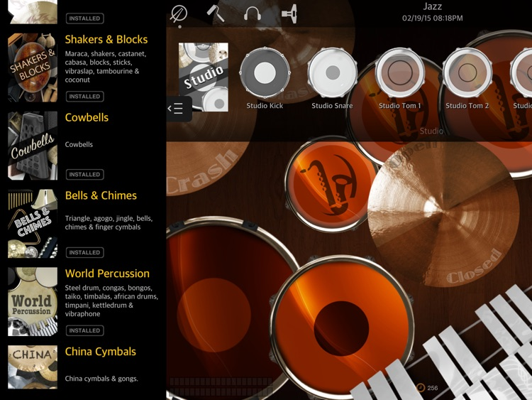 Drums XD - Studio Quality Percussion Custom Built By You! screenshot-2