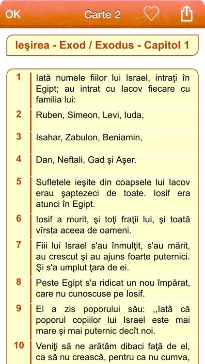 Romanian Holy Bible - Biblia română - Versiunea Dumitru Cornilescu