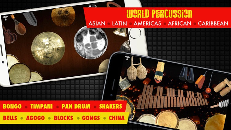 Drums XD - Studio Quality Percussion Custom Built By You! - iPhone Version screenshot-3