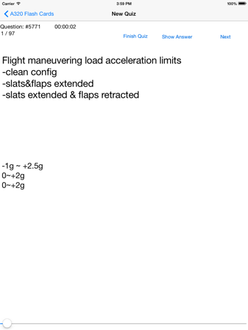 Systems & Limitations Flash Cards for Airbus A319/A320/321   App Price Drops