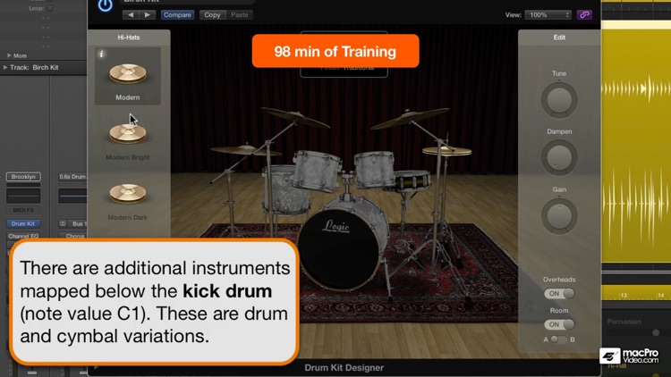 Course for Drummer and Drum Kit Designer