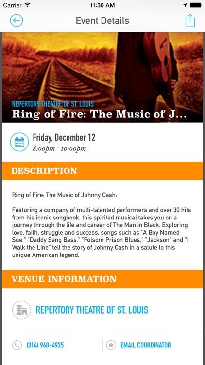 RAC Arts & Events Calendar screenshot-3