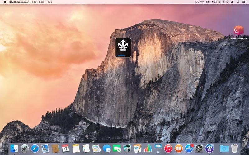 StuffIt Expander Screenshot