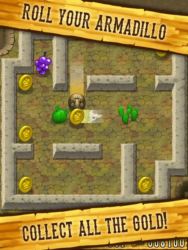 Armadillo Gold Rush Screenshot