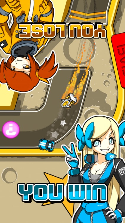 Blonde vs Brunette Racing - Two-player kart racing fun! screenshot-3