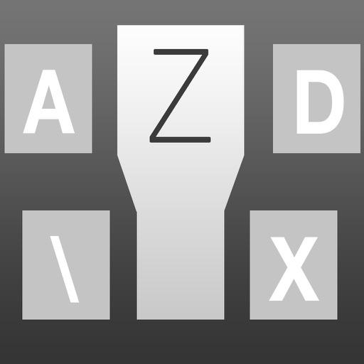 Zoom Keyboard – with Prediction: Custom Keyboard for iOS8