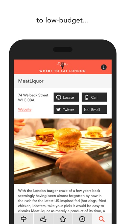 Where to Eat London 2015