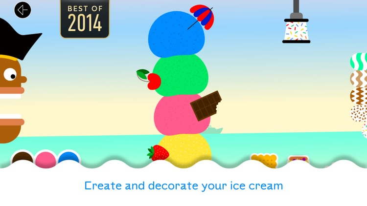 Bubl Ice Cream - A musical dessert for kids screenshot-0