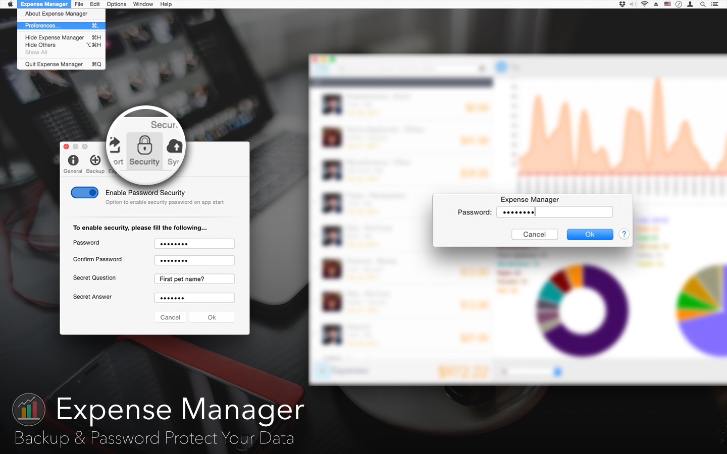 Expense Manager on the Mac App Store