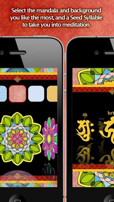 iMandala - Mandala Meditation, Relaxing Sounds, Visuals screenshot three