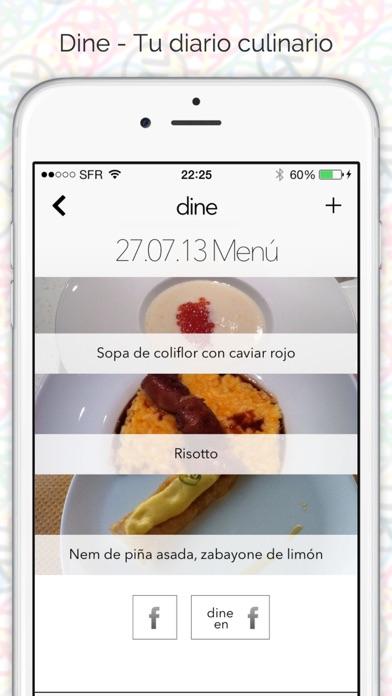 Screenshot for Dine - Tu diario culinario in Venezuela App Store