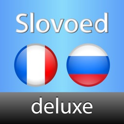 Russian  <-> French Slovoed Deluxe talking dictionary