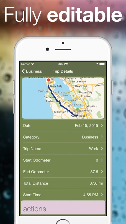 Easy GPS Mileage - Automatic Mileage Deduction Log screenshot-3