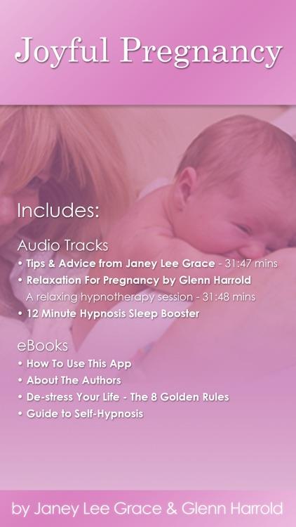 Joyful Pregnancy by Glenn Harrold & Janey Lee Grace: Pregnancy Advice & Self-Hypnosis Relaxation