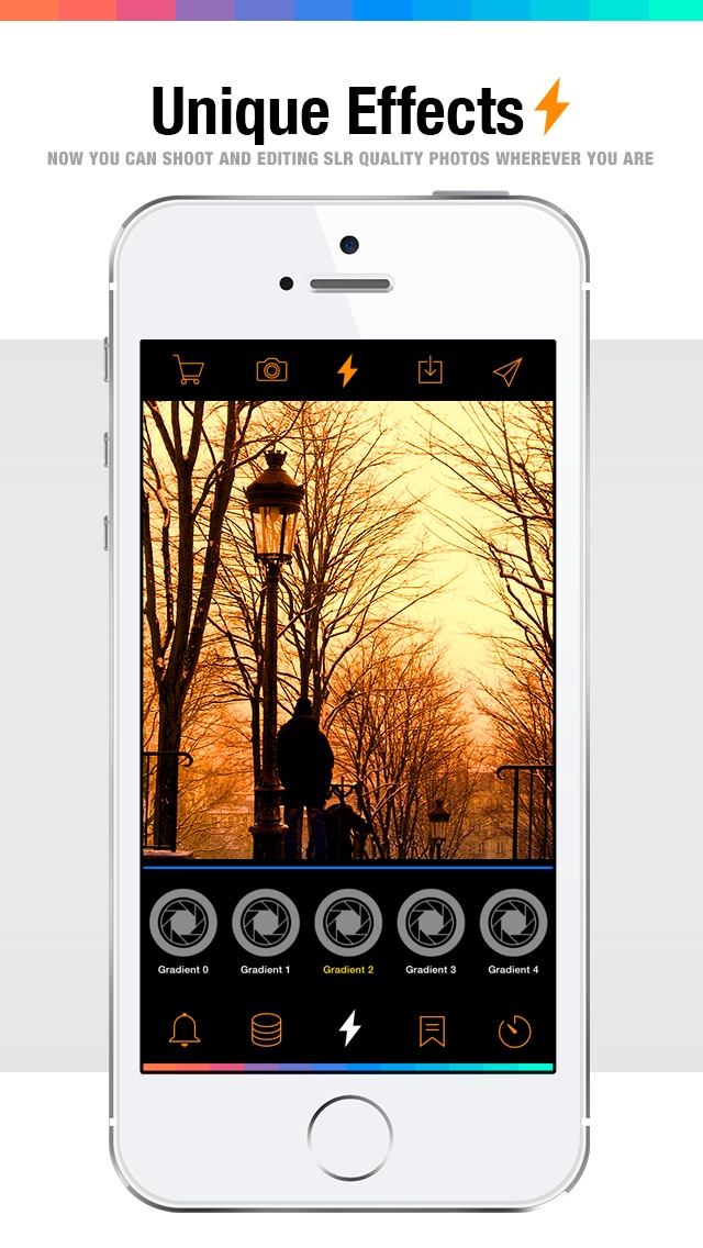 Screenshot #1 pour Live FX - camera effects plus photo editor