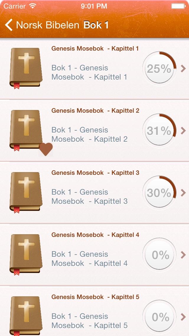 Norwegian Holy Bible - Bibelen på Norsk Screenshot 2