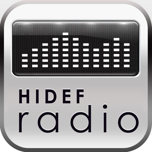 HiDef Radio - Free News & Music Stations icon