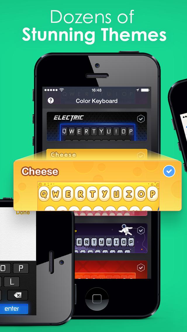 キーボードテーマ Pro – iPhone、iPad、iPod用の カスタムできる新しいキーボードスキンのおすすめ画像3