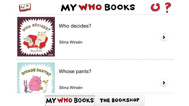 Who …? – Picture books for the very young. Read, look, listen!