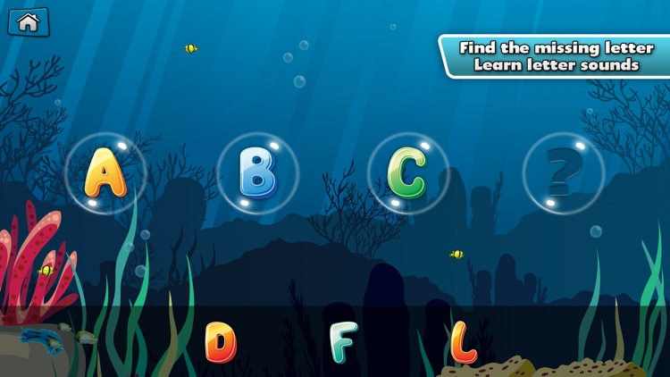 My Alphabet: Underwater ABC for Kids Free screenshot-3