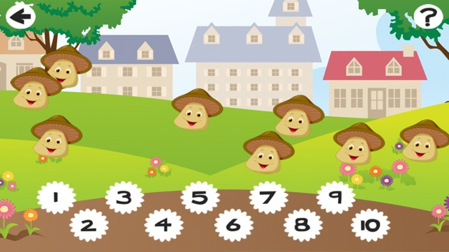 Awesome Harvest Counting Game for Children with Vegetables: Learn to Count 1-10
