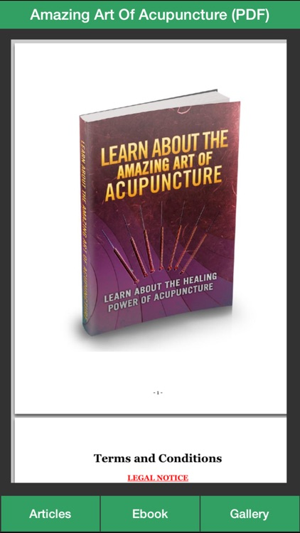 Acupuncture Guide - Everything You Need To Know About Acupuncture Treatment! screenshot-2