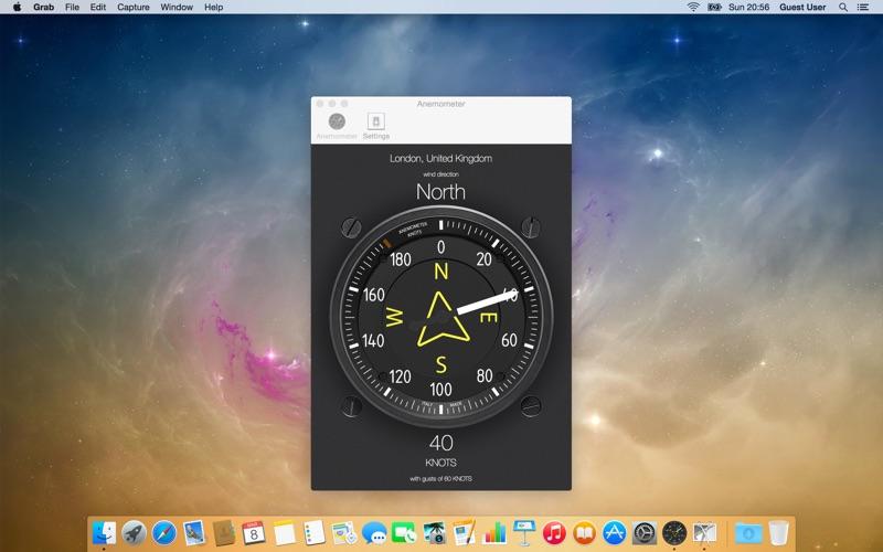 Anemometer - Wind speed Screenshot