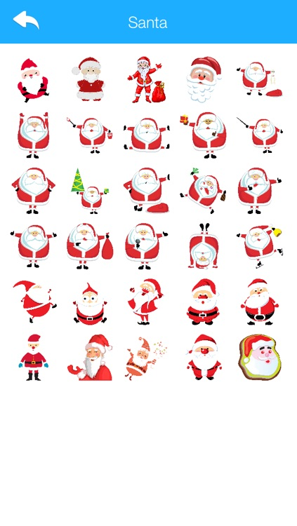 Winter Stickers & Emoji for Messengers 2016 Edition screenshot-3