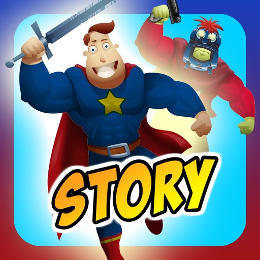 Create My Own Interactive Action Superheroes And Super Villains Story Books Free Game