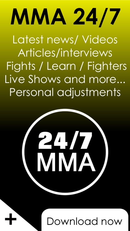 24/7 MMA  - All the news and videos about MMA & Bjj fights from leading online MMA magazines