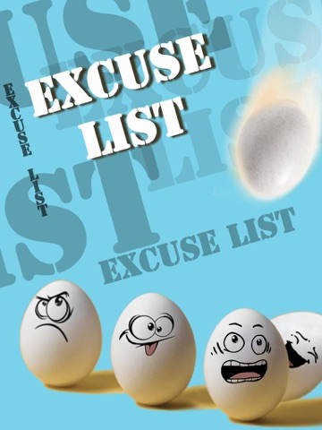 Excuse List-ipad-0