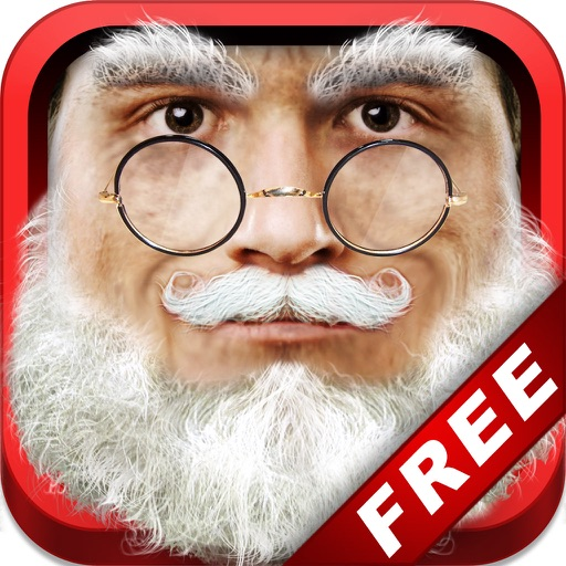 Santa ME! FREE - Easy to Christmas Yourself with Elf, Ruldolph, Scrooge, St Nick, Mrs. Claus Face Effects! iOS App