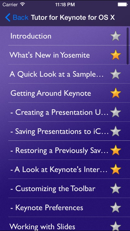 Tutor for Keynote for OS X screenshot-1