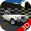 Russian Car Lada Racing 3D - iPadアプリ