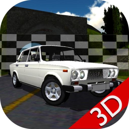 Russian Car Lada Racing 3D
