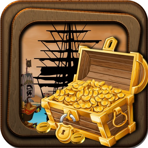 Free Pirate Game Treasure Gold Hunt Challenge icon