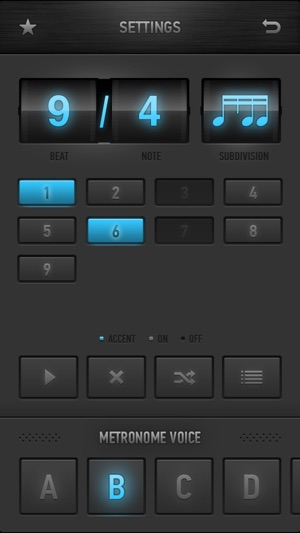 Metronome Ϟ on the App Store