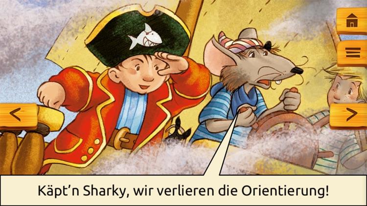 Käpt'n Sharky Piratenspaß zum Lesen und Spielen screenshot-3