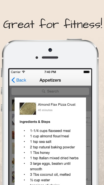 Paleo Superfood Recipes for Men screenshot-4