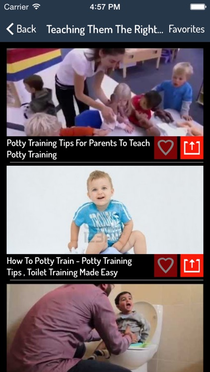 Kids Potty Training