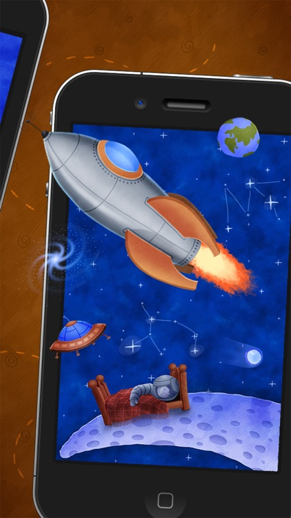 Who Stole The Moon? - Interactive e-book for children (iPhone version) screenshot-4