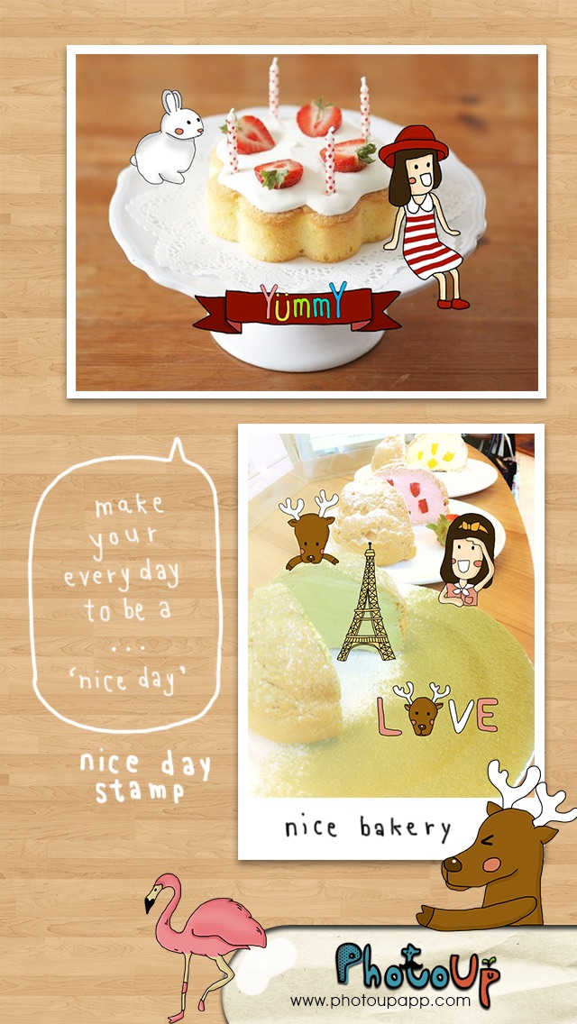 Nice Day Stamp by PhotoUp - Cute and Nice App with Stamps Sticker ...