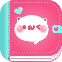 No.1顔文字アプリ カオコレ-かわいい特殊かおもじでチャットやメールを無料でデコメ!