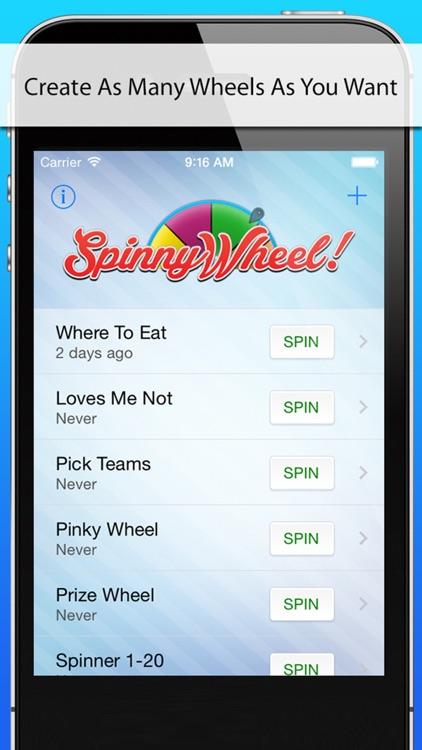 SpinnyWheel screenshot-4
