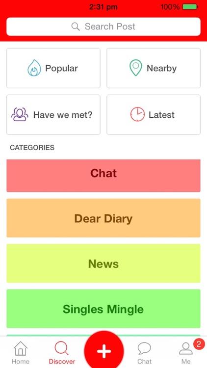 WeSayApp - share, meet, chat screenshot-4